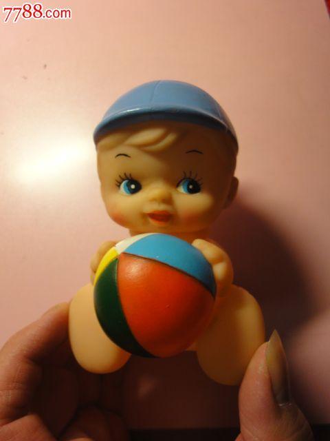 胶皮玩具小男孩抱皮球_价格100元【小伟收藏屋】_第4张_中国收藏热线