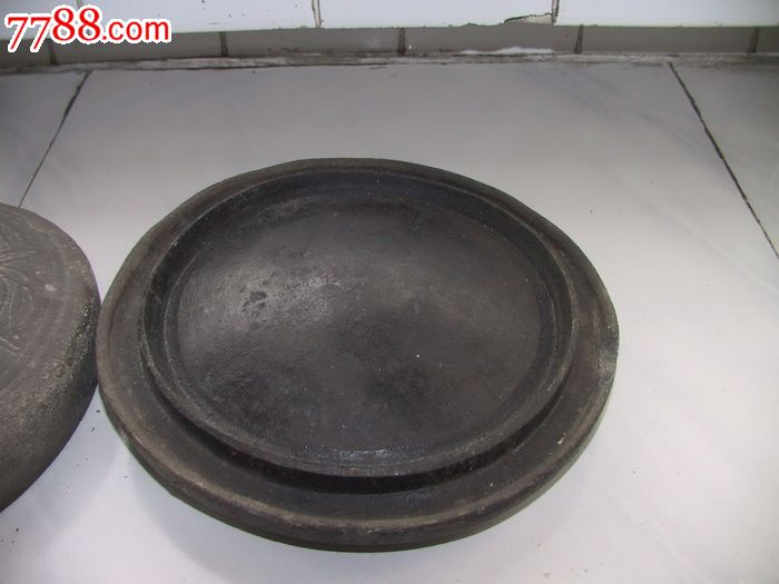 沙陶器(陶器煎饼鏊子)(非常少见)图片