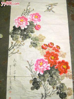 保真河南著名实力派青年画家——石金涛花鸟作品图片