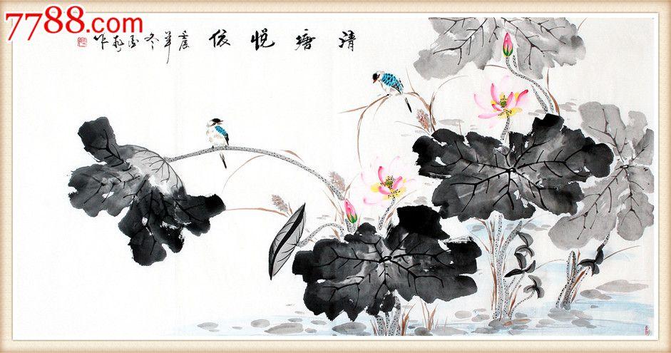 郑云舟花鸟画手绘