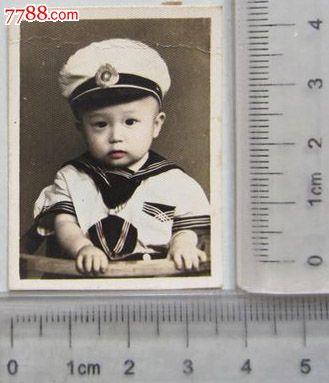 可爱小宝宝单人照(老照片)_价格元【京沪照片屋】_第1张_中国收藏热线