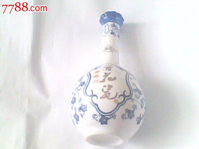 老银川青花瓷酒瓶