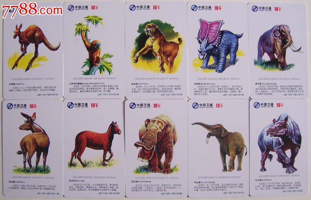 远古动物(100全)