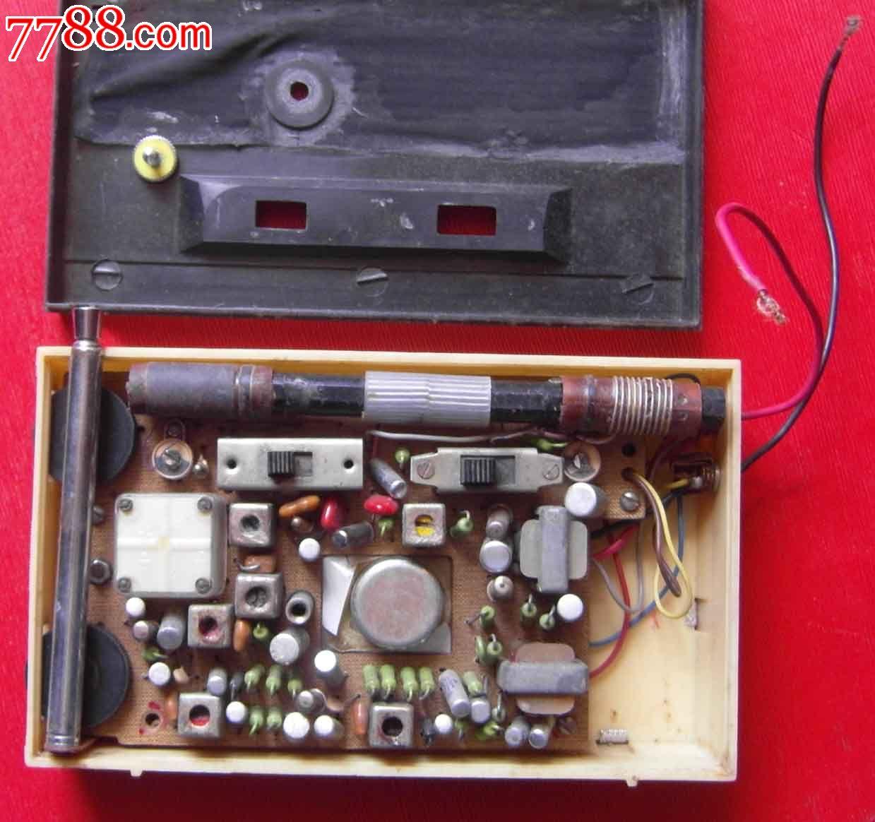 海鸥6c2型,收音机,种类不详,年代不详,家用收音机,袖珍式,海鸥,其他国