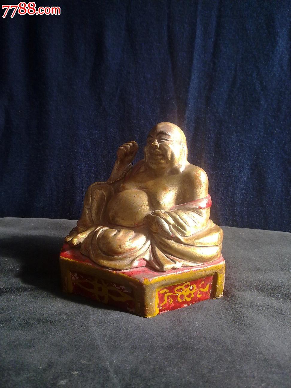 泥塑弥勒佛一尊_价格150元【弥勒堂】