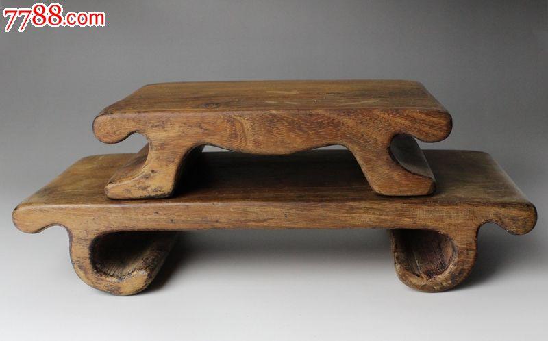 木雕博古架两个_价格650元_第1张_中国收藏热线