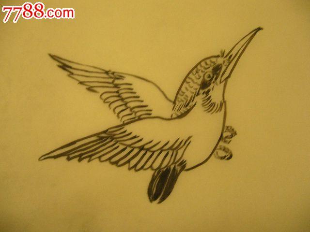 素描欧式花鸟图片