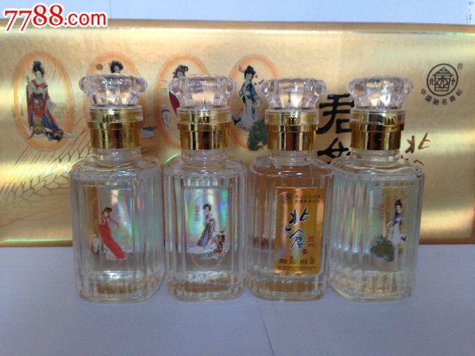 北大仓君妃4大世纪酒版,广告,21年代10美女,白酒瓶映美女客图片