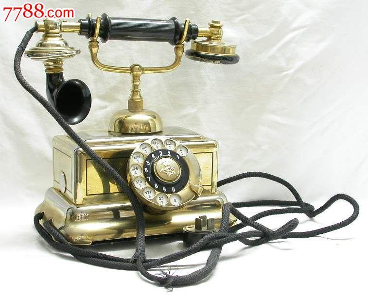 德国带入古典旧式电话机图片