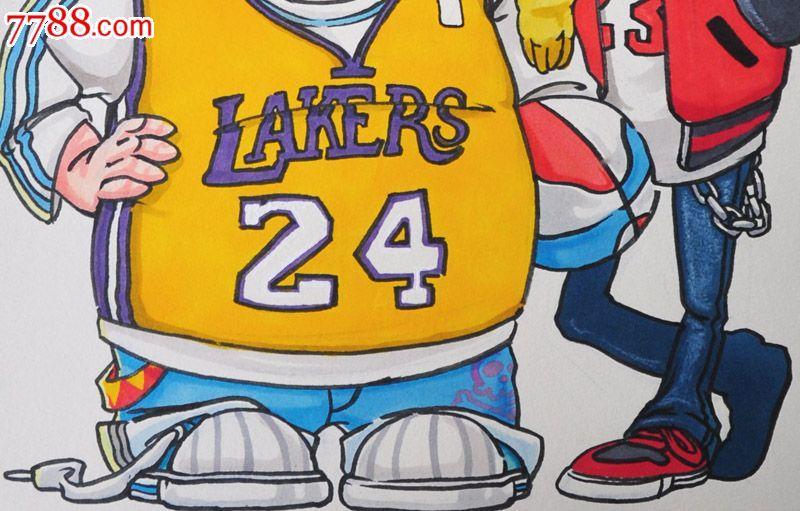 原创手绘漫画—篮球_价格元【松云阁】_第3张_中国收藏热线