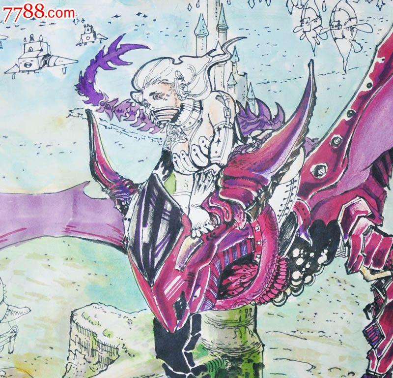 原创手绘漫画—飞鸟_价格元_第2张_中国收藏热线