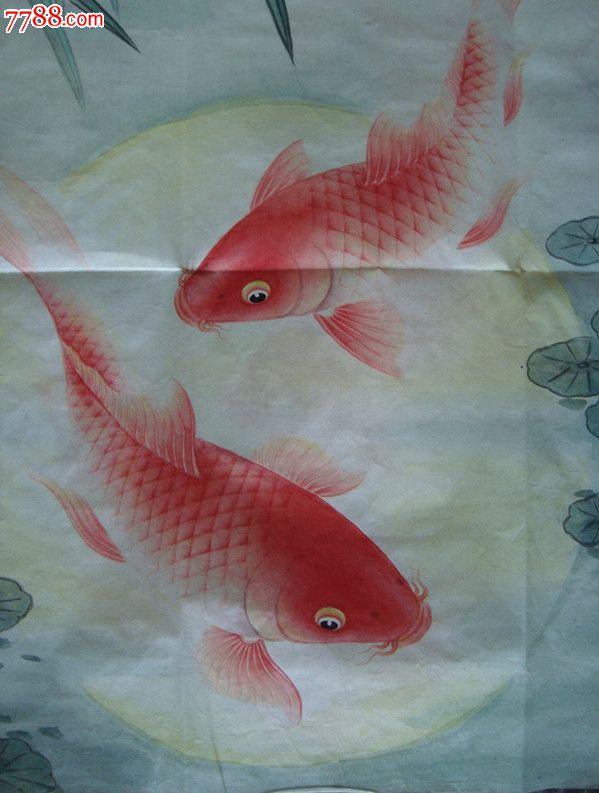 壁纸 动物 国画 鱼 鱼类 599_793 竖版 竖屏 手机