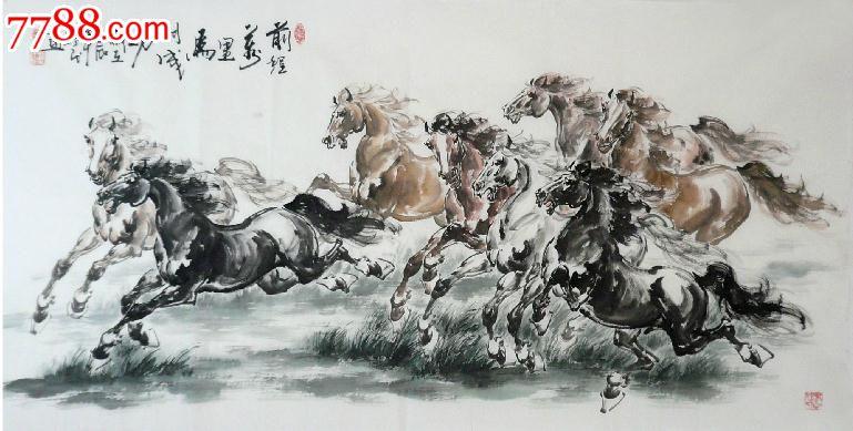 擅长画马的画家
