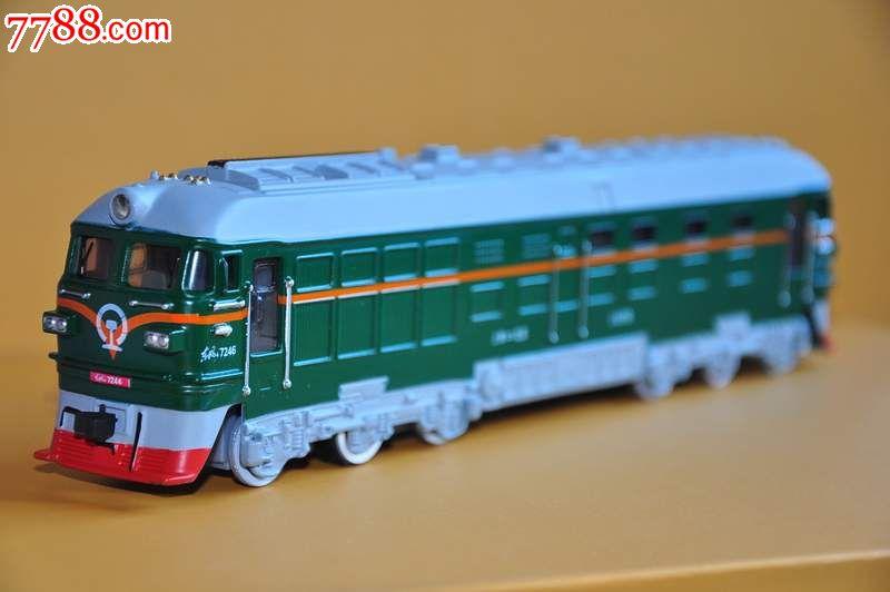 东风火车头模型