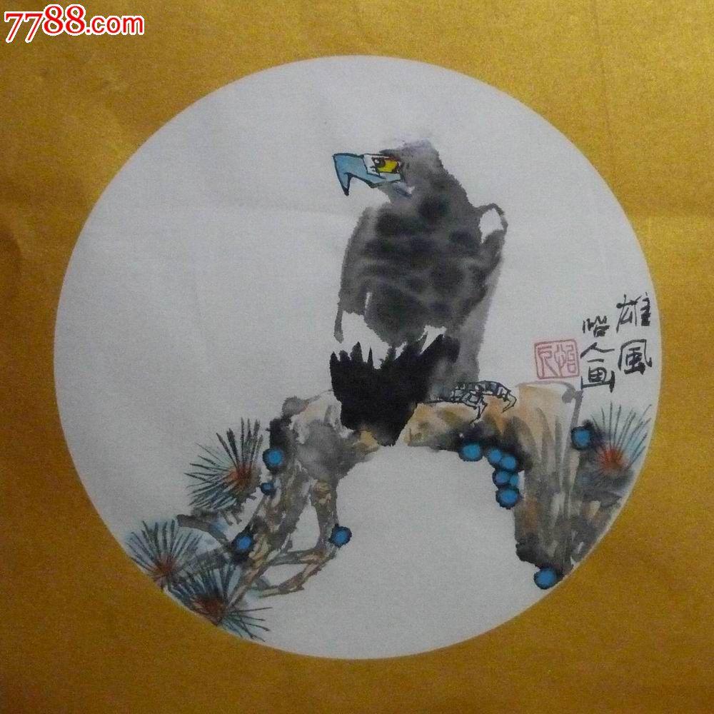 潘泽智写意花鸟画 圆光.扇面 系列