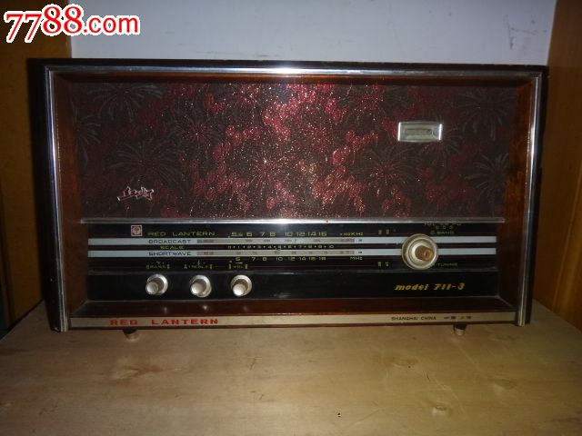 五灯电子管收音机电路图