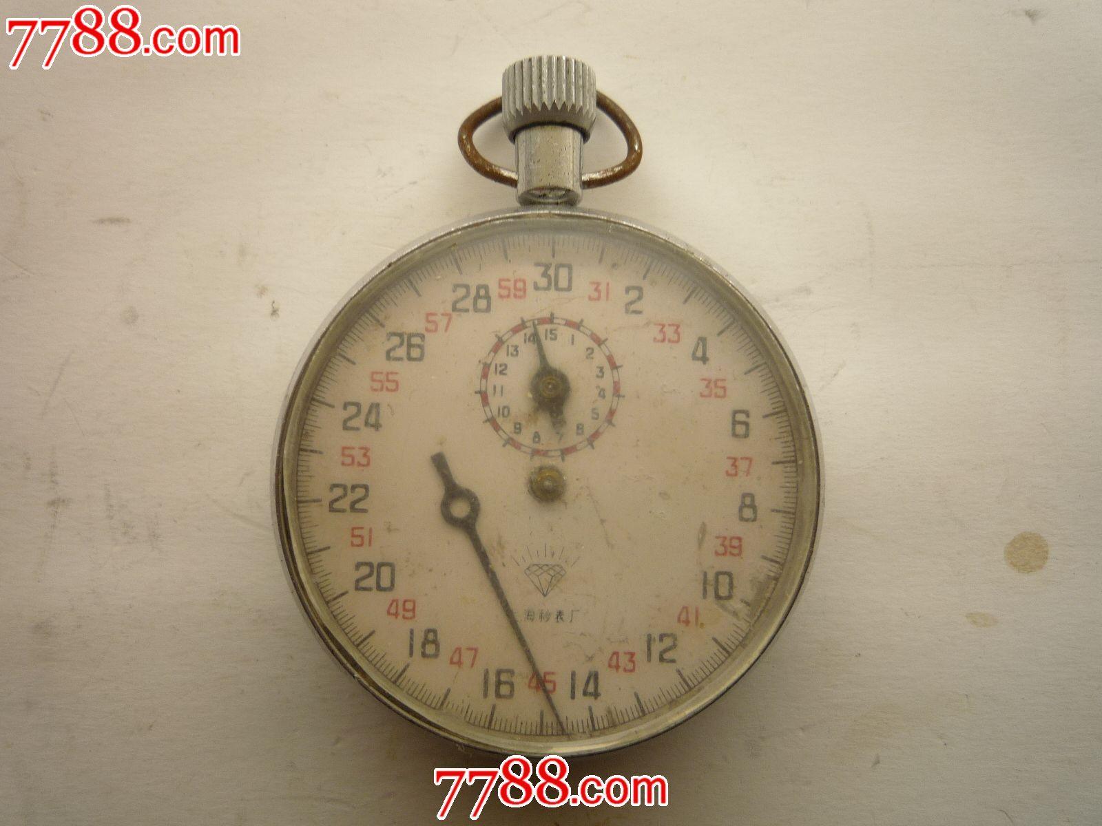 老式秒表_秒表/计时钟表_赏真缘【中国收藏热线】