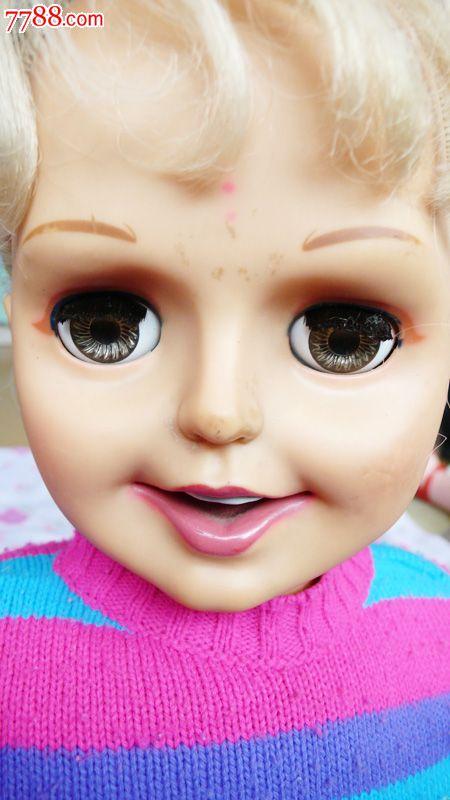 眨眼睛娃娃1989(高80公分)