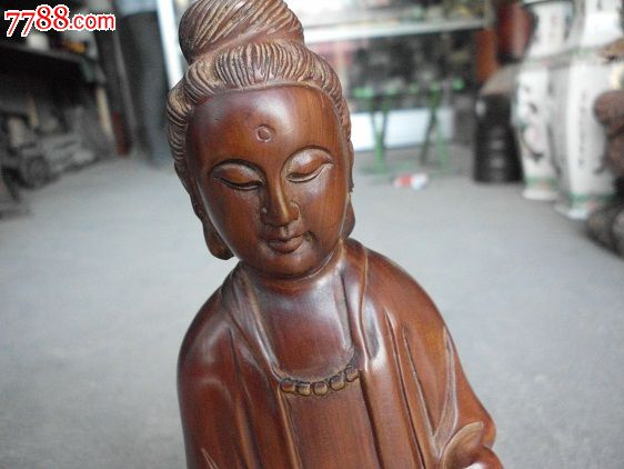清代红木雕仙女-价格:1300元-se18999023-木佛像