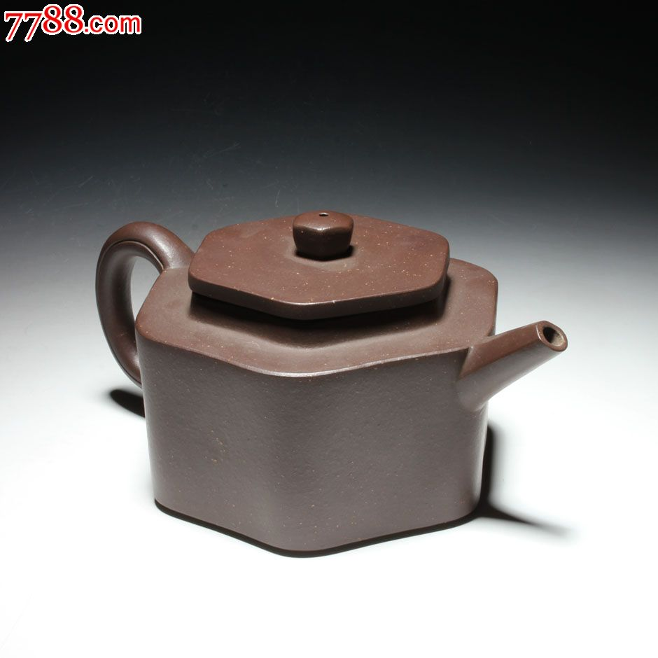 宜兴紫砂茶壶早期一厂壶蒋建平制六方壶老紫泥胎儿对墙纸有v胎儿吗图片