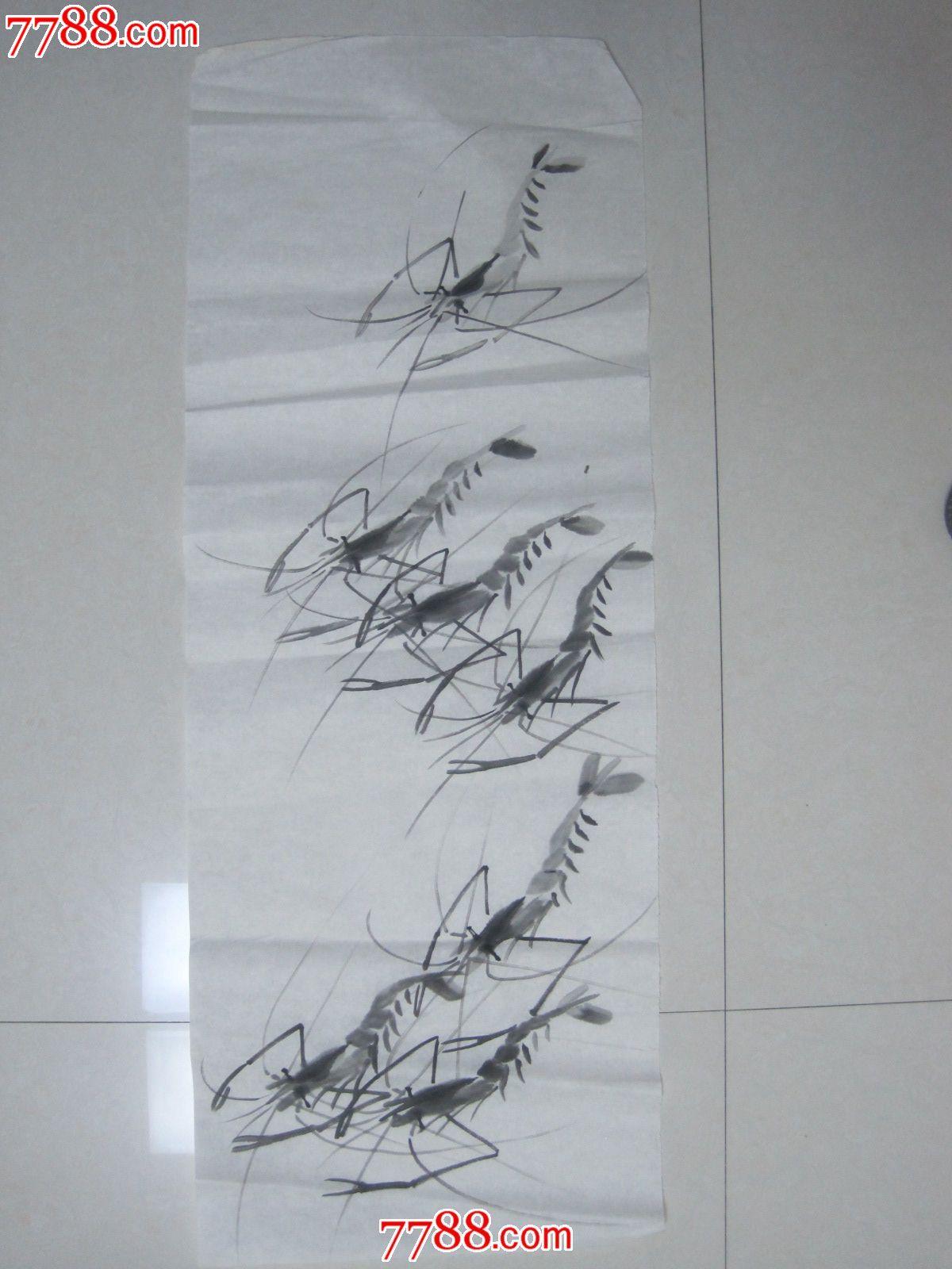 手绘原稿,国画