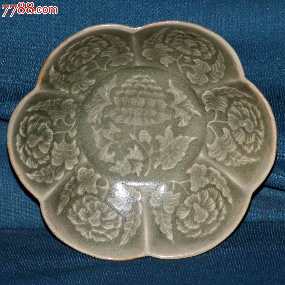 有花纹的葵口碗_价格5800元