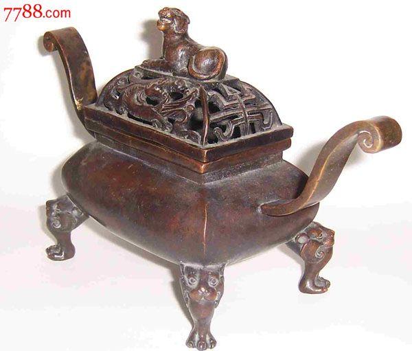 双耳铜香炉_价格4370元_第2张_中国收藏热线