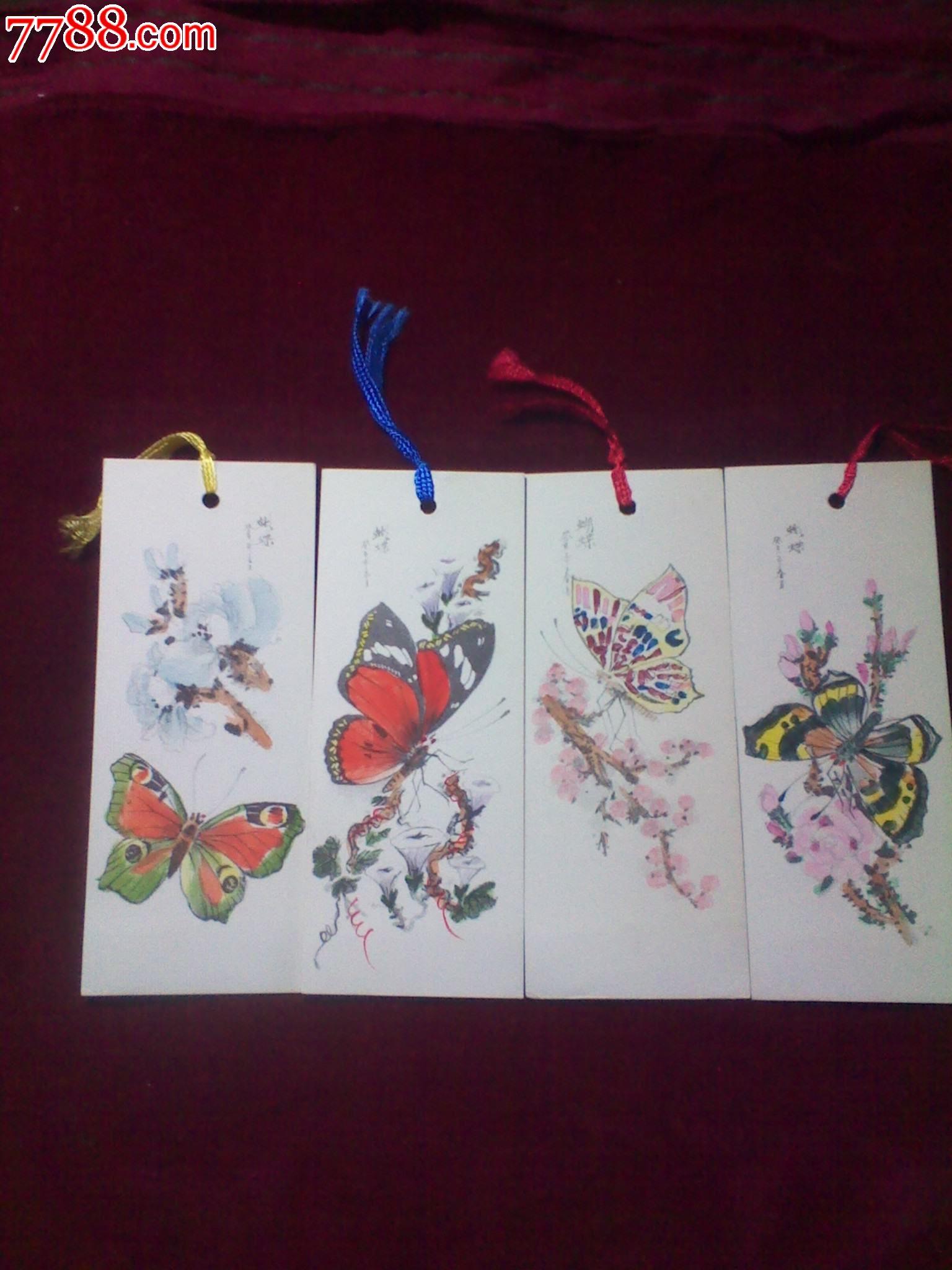 动物,80-89年,平面书签,湖北,硬纸,长方形,套件 简介: 80年代制作