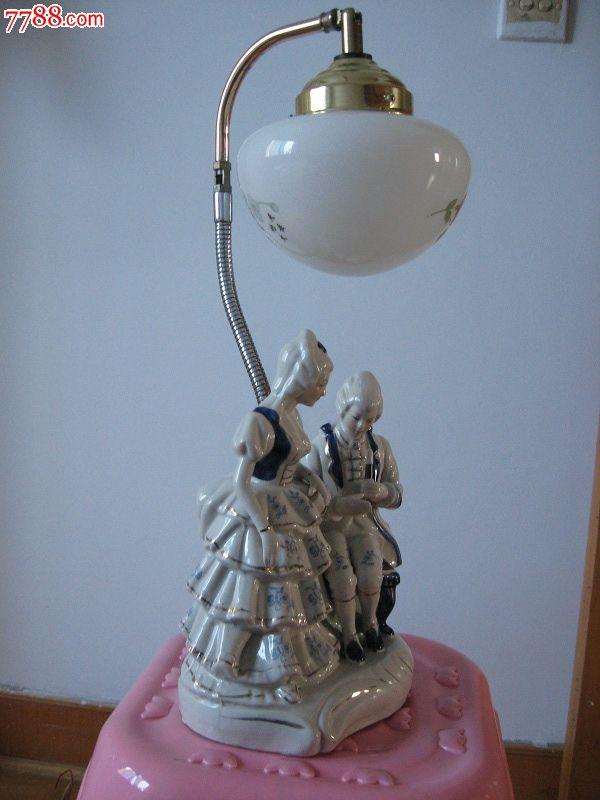 欧式高雅台灯-欣赏_价格2000元_第9张_中国收藏热线