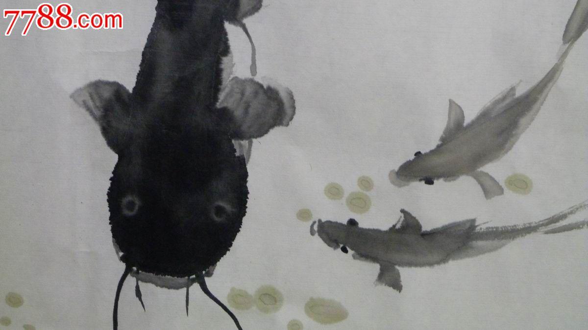 中国画写意花鸟画 游乐图