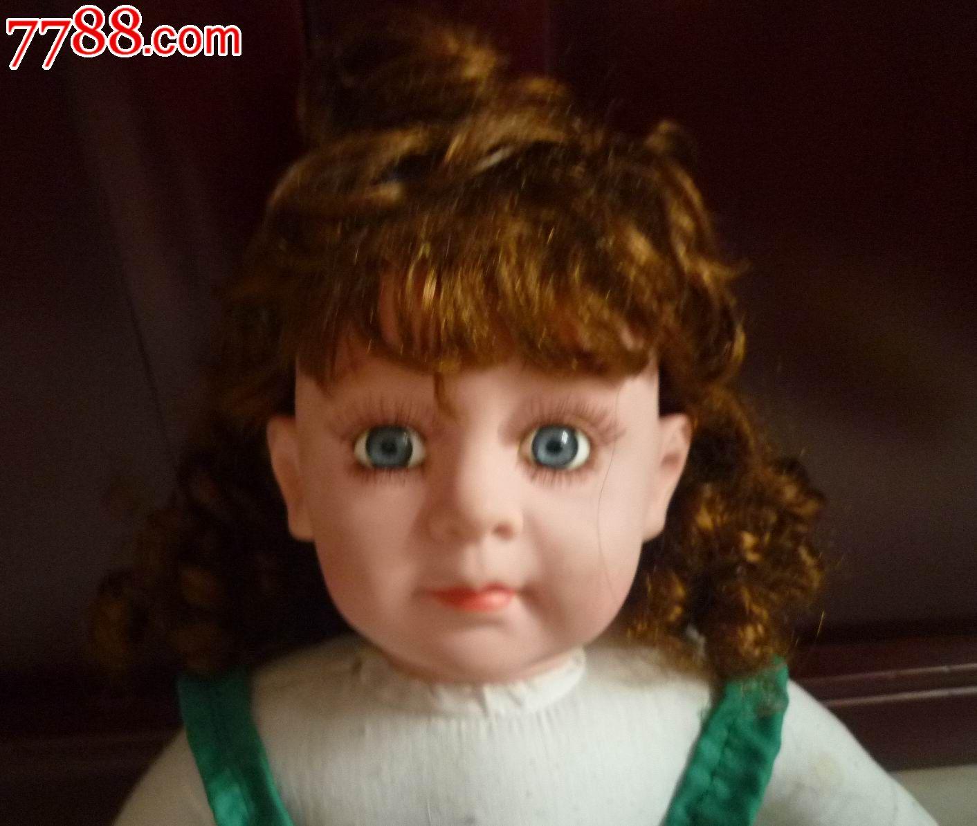 圆脸胶皮小女孩子娃娃
