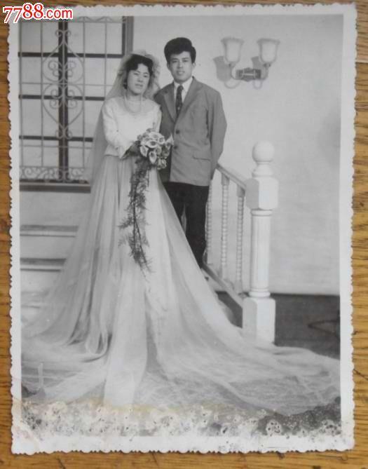 结婚照(黑白)