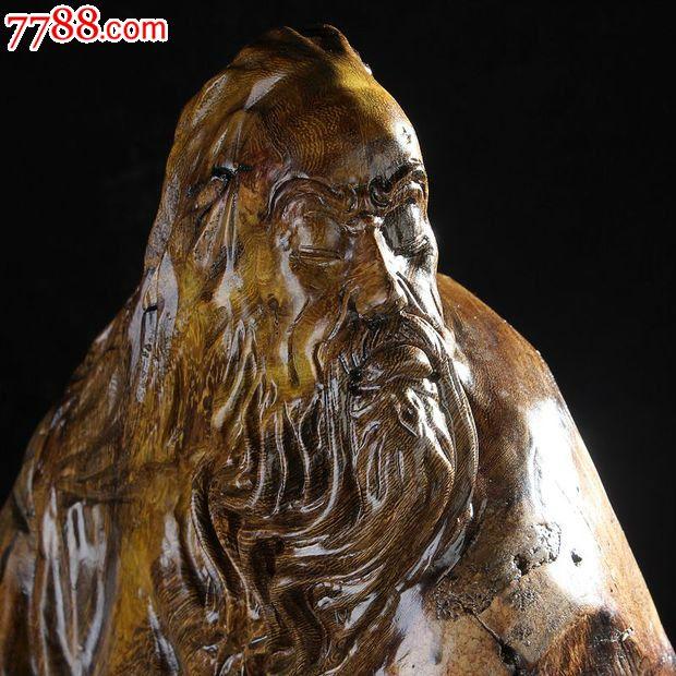 根雕木雕实木人物雕像艺术摆件鸡翅木-丹青ywd619_价格元_第6张_中国