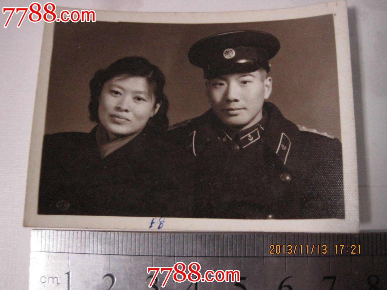 50年代海军家庭照图片