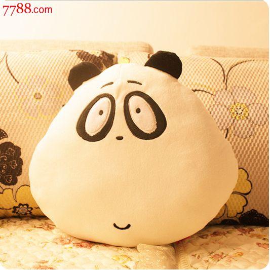 毛绒玩具酷巴熊抱枕可爱熊靠垫玩偶布娃娃情侣枕头d