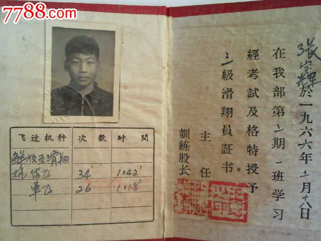 罕见邵阳飞机场历史,1966年邵阳航空俱乐部【结业