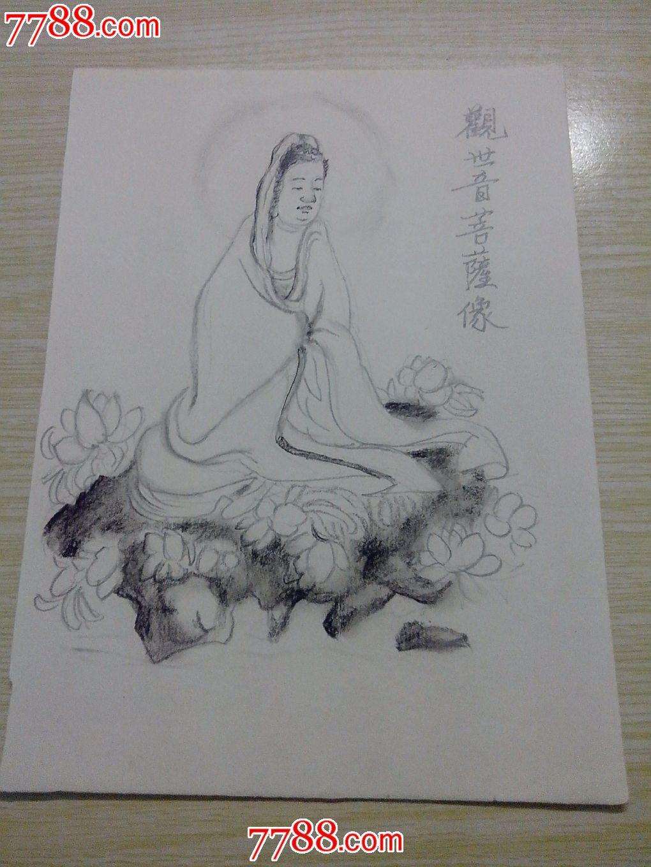 画舞狮素描的步骤