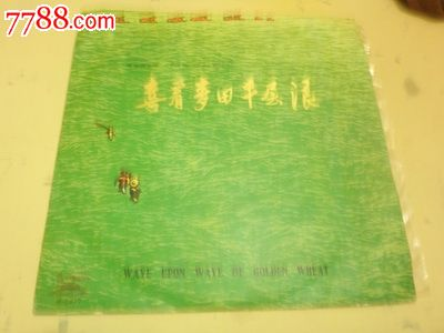 喜看麦田千层浪-----民族器乐曲_价格50元_第1张_中国收藏热线