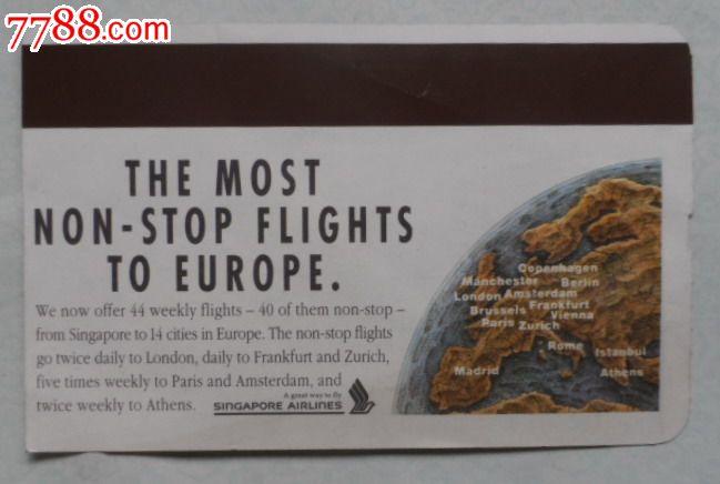 国外牌�_英文国外登机牌
