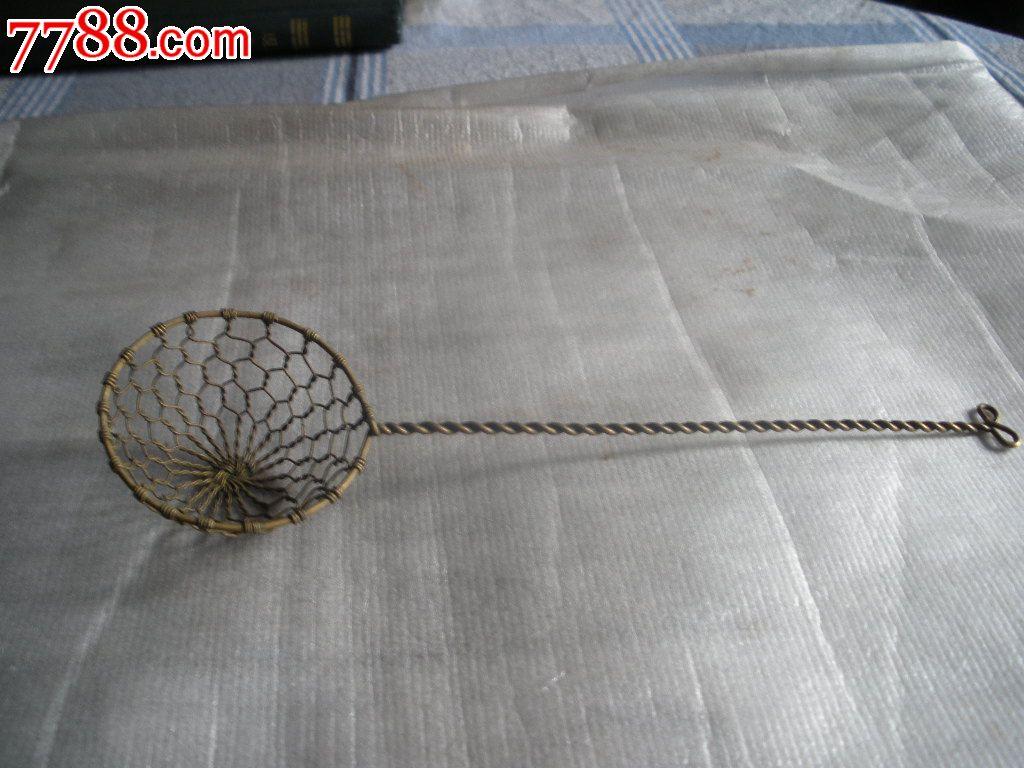 手工铁丝笊篱的编法