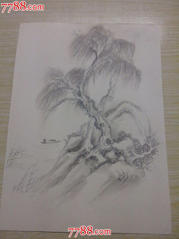 属性: 铅笔画原画