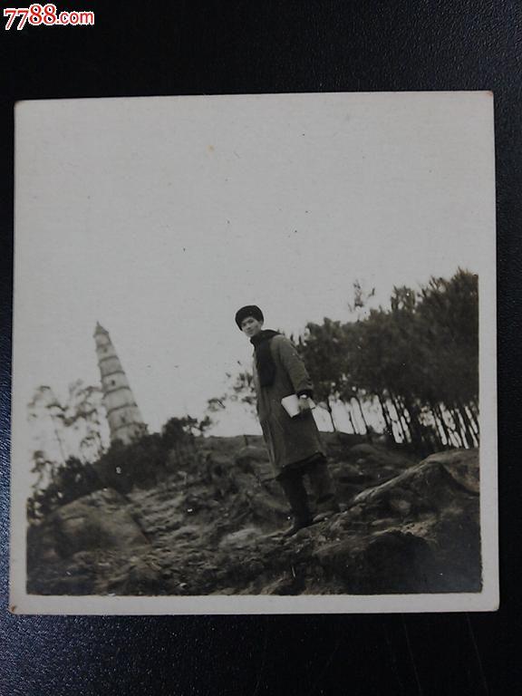 重庆文峰塔下:六十年代老照片