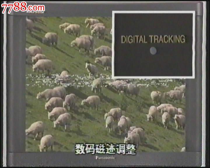 松下j27录像机演示带vhs-dvd