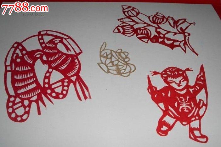 品种: 剪纸/窗花-剪纸/窗花 属性: 年代不详,,产地不详,,其他图案