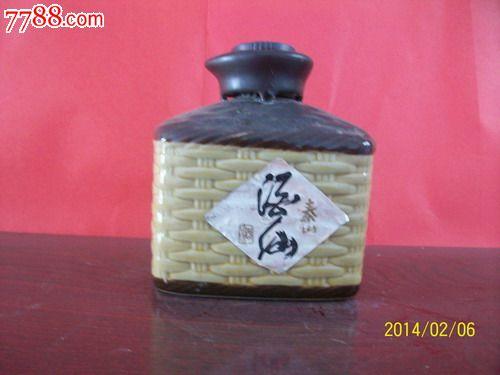 酒器收藏-精美陶瓷泰山酒仙酒酒瓶_价格20元_第1张_中国收藏热线