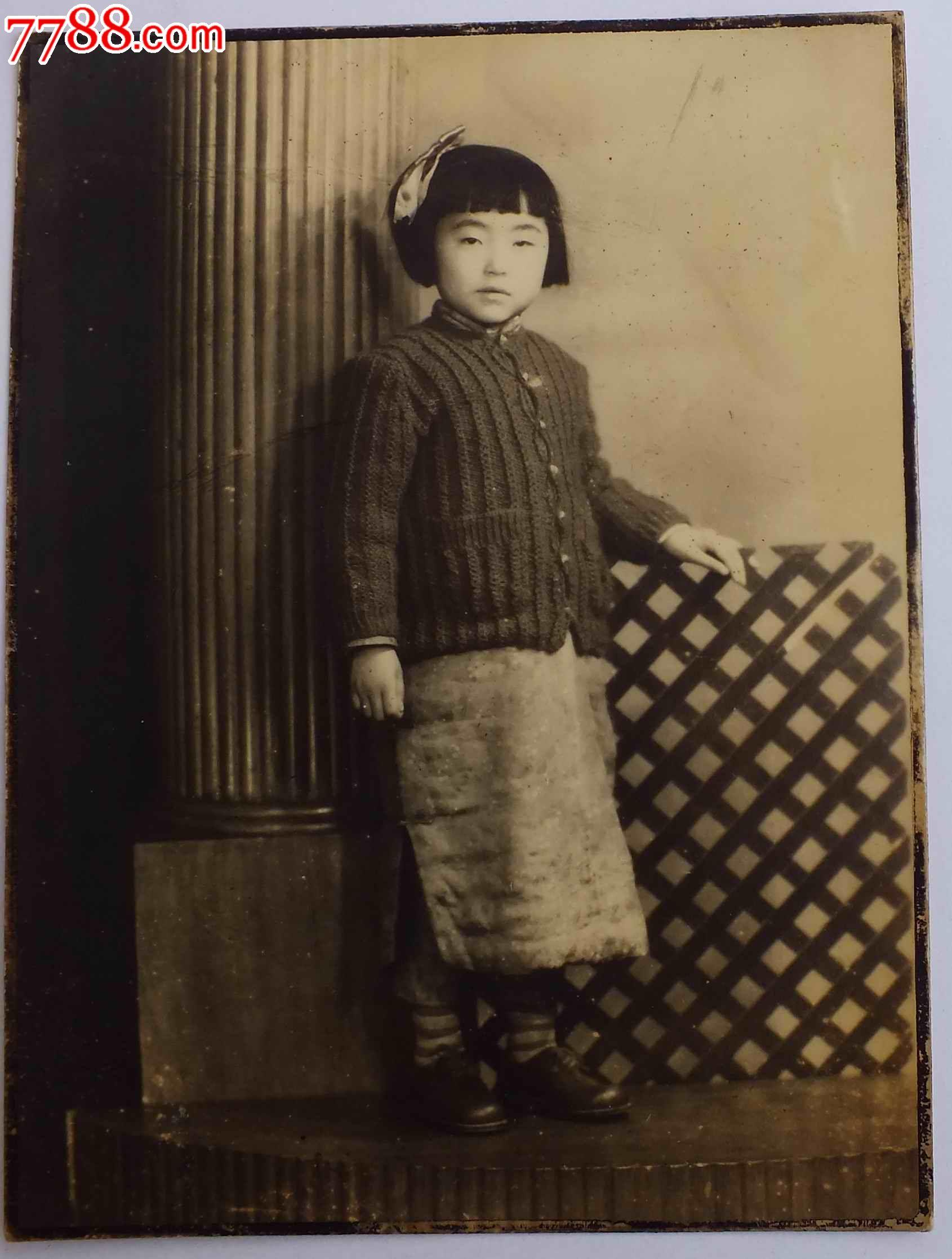 民国可爱的儿童照片