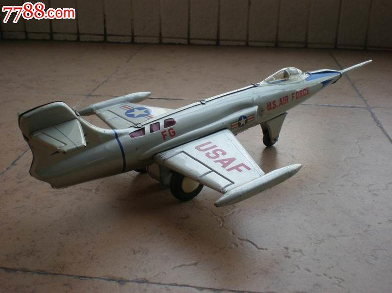 日本铁皮玩具美军f-104鬼怪式飞机_价格800元_第2张_7788收藏__中国