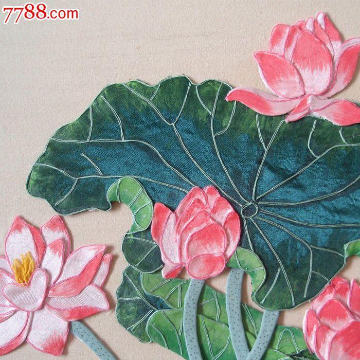 布贴画-花瓶1_价格1000元_第4张_中国收藏热线