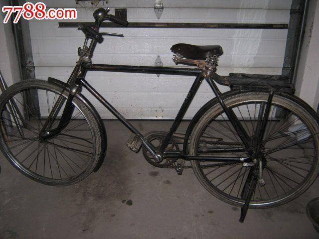 老金鹿二八自行车/老物件