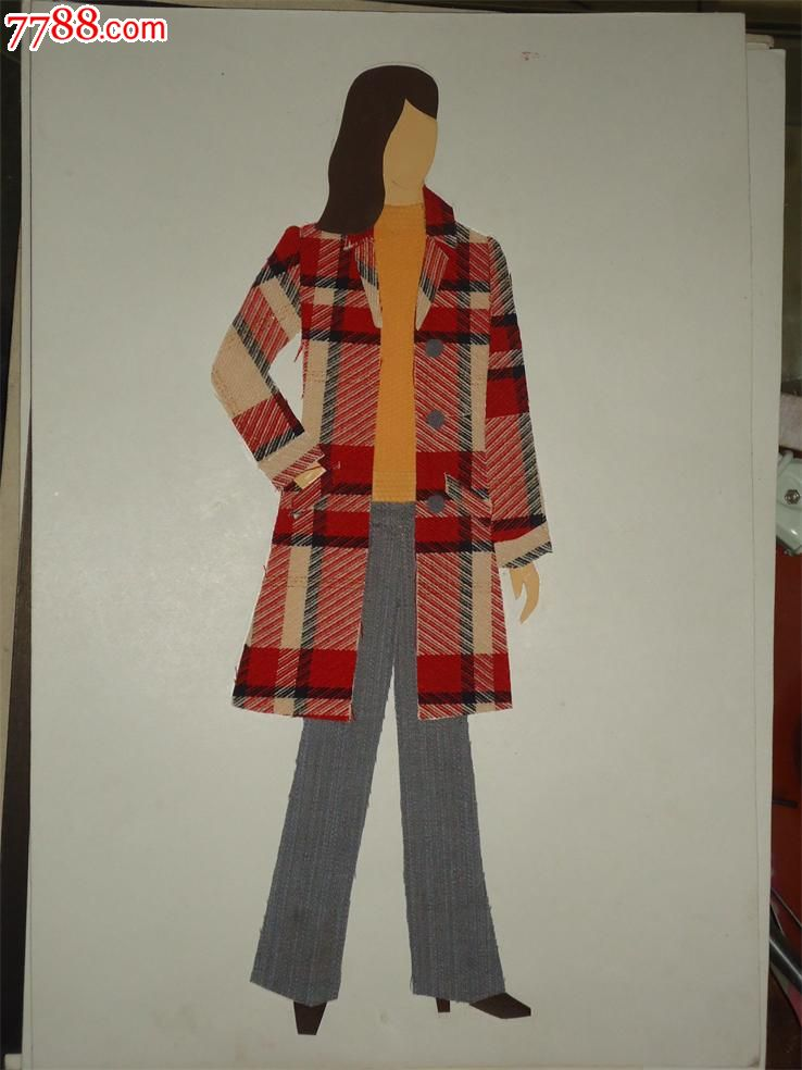 1983年新疆服装设计原稿